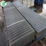 Strong Galvanize Metal Platform Floor Plain Steel Grating