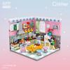 LOZ best seller 2020 corner series kitchen toys building blocks Educational Toy