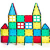 Block Set Magnetic Building Tiles Clear Color Tiles Magnetic Building Blocks For Girls Boys