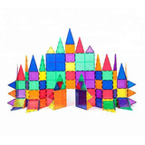 Magnet Building Tiles Clear Magnetic 3D Building Blocks Construction Toys