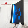 double sides hotel guidance led light box, shopping mall cinema box light