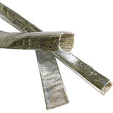 Heat reflective aluminum foil fiberglass sleeve