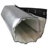 engine exhaust pipe insulation blanket