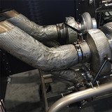 REMOVABLE INSULATION BLANKETS FOR EXHAUST SYSTEMS
