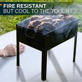 Customized size Fire Retardant BBQ Mat, Fireproof Charcoal Grill Mat, Fire Mat for Deck