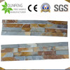 China Split Surface Natural Rusty Stacked Stone Veneer Panel Slate Wall Cladding