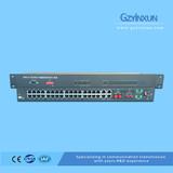 1 Fiber+1 E1 back up protection multiplexer-ZMUX-3036ES