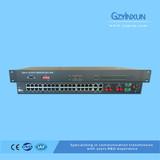 Fiber optic 1+1 protection multiplexer-ZMUX-3036S2