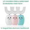 U-shaped kids electronic toothbrush