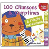 French Songs法国歌曲-100首法语儿歌法语歌曲法语童谣带PDF+100个法语寓言和小故事