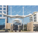 Custom Tensile Commercial Membrane Structure for commercial facilities