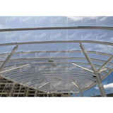 Bus Station Canopy Membrane Structure Permanent Architecture Materials