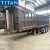 3 Axle 60 Tons Tipper Dump Trailer for Guinea