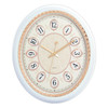 Oval Exclusive Wall Clocks Quartz Battery Operated