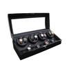 New Design High Gloss Paint Black Wooden Automatic Watch Winder  wooden watch winder  Automatic Motor Watch Winder