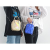 2020 New arrivial Small square bag with bright surface