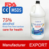 CE/FDA/MSDS certificated 75% alcohol waterless hand sanitizer, antivirus hand sanitizer gel 5000ml
