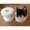 Wear-resistant UHMWPE/HDPE/PP/Nylon irregular Plastics parts or CNC machinery parts for machine use or vehicles use