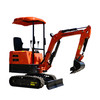 Ce,iso,eac certificated 1 ton mini crawler excavator