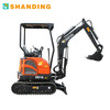 1.8 TON TAILLESS  MINI CRAWLER EXCAVATOR WITH OPTIONAL ATTACHMENTS