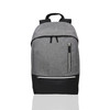Custom design gray sports outdoor college travel polyester backpack