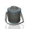 Hot Sale OEM Adjustable volume cylindrical insulated lunch cooler bag