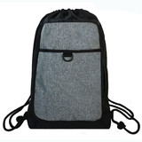 High quality promotional large polyester drawstring backpack bags