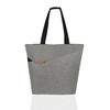 Eco friendly clothes polyester bag shopping tote bags with custom printed logo