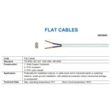 4E-300/500V Flat Cables