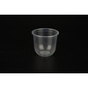 360/500ml disposable U-shape pp cups with flat lids