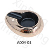 A004 Cheap Cigar Ashtray Custom logo Metal Cigar ashtray smoking accessories