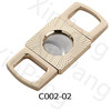 metal cigar cutter stainless steel guillotine double blades cigar cutter cigar accessories factory vendor competitive price low price good quality zinc alloy cigar cutter