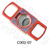 metal cigar cutter stainless steel guillotine double blades cigar cutter cigar accessories factory vendor factory custom service competitive price low price good quality zinc alloy cigar cutter