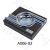 A006 Cigar ashtray Custom Leather Cigar Ashtray