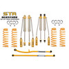 STR OFF ROAD suspension  shock absorbe mono reservoir 24 steps adjustment lift kits