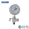 Diaphragm-seal pressure gauge