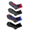 JG-344 Bamboo Cushioned Functional Sports 1/2 Socks