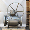 API Low Temperature LF2 Trunnion Mounted Ball Valve with Worm Operation RF