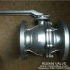 Stainless Steel Floating Ball Valve RF Flanged End