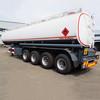 4 Axles 45000 liter Fuel Tanker for Africa