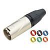 XLR3M001  3-Pin XLR Male Plug cable connector