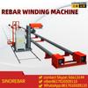 rebar cage winding machine luyuan made sinorebar brand