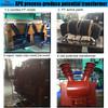 Resin transfer molding machine for potential instrument transformer