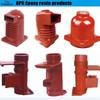 Resin transfer molding machine for LSR material insulator