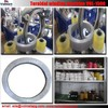 Long service time current transformer coil winding machine