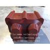 Resin transfer molding machine for overhead line insulator