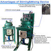 High Quality Fully Automatic Epoxy Resin Stirring Mixing Machine