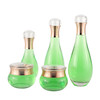 High Quality Cosmetic Pump Skin Care Lotion Glass Bottle