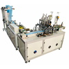 fully auto 1-1 flat mask making machine production line
