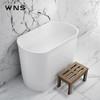 freestanding artificial stone bathtub for five star hotel